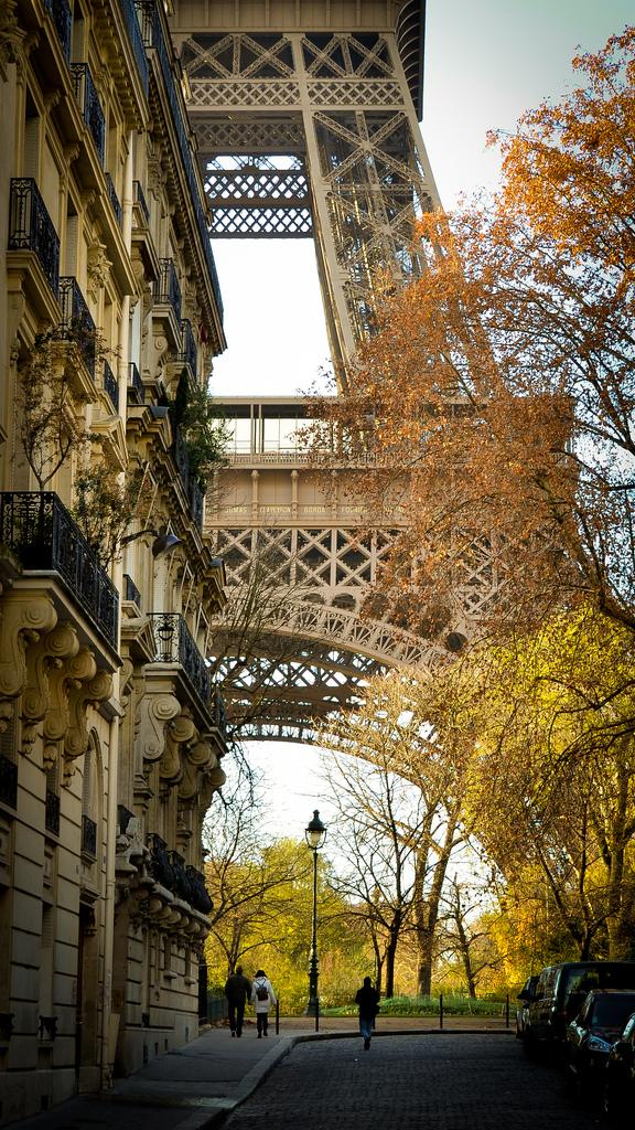La tour Eiffel, Paris, France