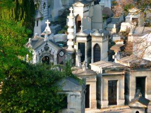 Le cimetière de Père Lachaise, Paris, France