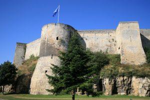 Le château médiéval de Guillaume Le Conquérant à Caen