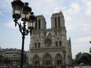 Cathedral Notre Dame, Ile de la Cité, Paris