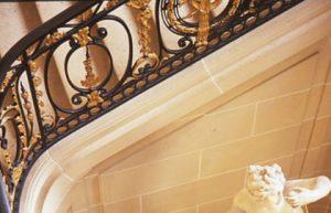Escalier Art Nouveau du musée Nissim de Camondo