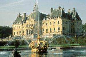 The castle of Vaux le Vicomte, Nicolas Fouquet, Paris region , France