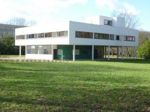 Villa Savoye by Le Corbusier, Paris region, France
