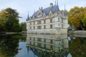 Le château d'Azay le Rideau, Vallée de la Loire