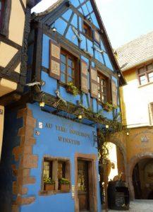 Winstub à Ricquewihr, Alsace