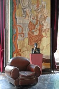Art Deco, club chair, Paris