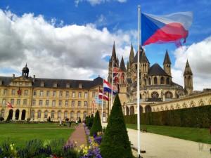 Abbey of Men Caen, France
