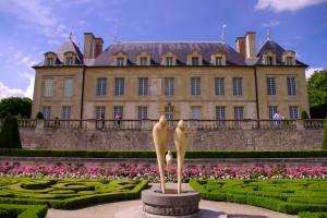 Le château d'Auvers sur Oise, Paris region, France