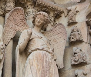 Smiling Angel, Cathedral of Reims