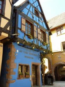 Winstub in Ricquewihr, Alsace, France