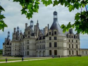 Le château de Chambord, Loire Valley, France