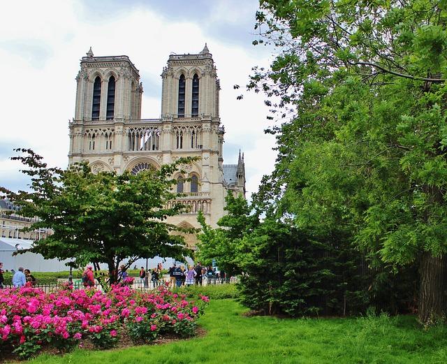 Notre Dame de Paris, île de la Cité, Paris, France