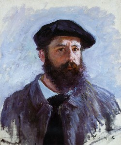 Claude Monet's self-portrait at 46 years