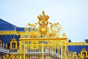 La grille royale du château de Versailles