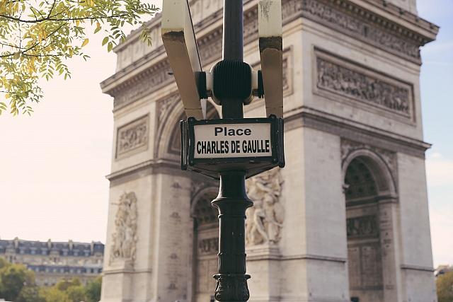 Arc of Triumph, Paris, France