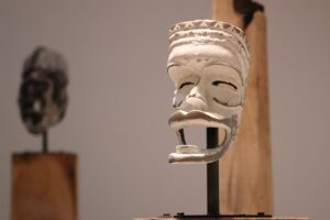 African mask museum of primitive art Paris