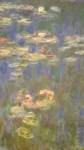 Waterlilies by Claude Monet, Musée de l'Orangerie