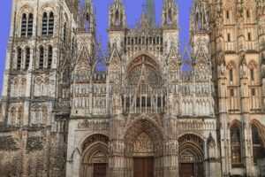 Cathedral of Rouen Normandy