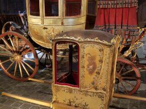 Visite privée dans la Galerie des Carrosses royales à Versailles