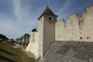 Medieval fortifications in Provins, Paris region, France