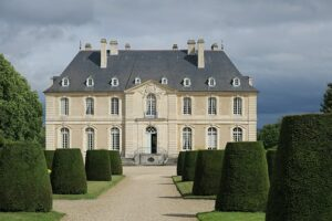 Privately owned Vendeuvre castle, Normandy