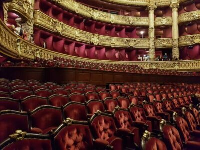 Private visit in the Opera Garnier-Phantom of the Opera