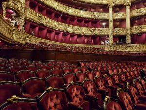 Visite privée de l'Opéra Garnier, la grande salle- fantôme de l'Opéra